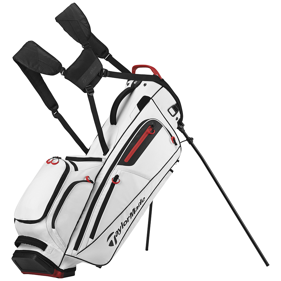 Taylormade Golf Bag >> Taylormade Golf Flextech Stand Bag White Shop For Golf Clubs At