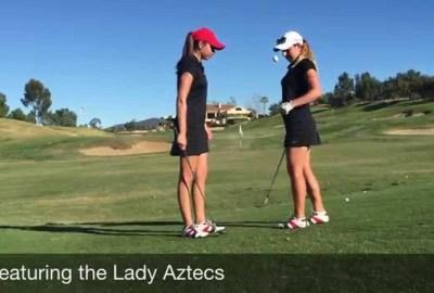 maxresdefault 1 - SDSU Women's Golf Team Trick Shot Video