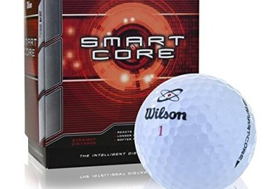 51twe7Y4E8L - Wilson Smart Core Golf Ball - Pack of 24 (White)
