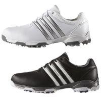 Adidas 360 Traxion WD Golf Shoes - 7.5 Black