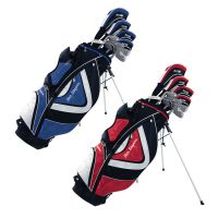Ben Sayers M15 Package Set Steel/Graphite - Stand Bag