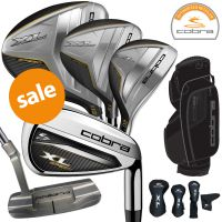 Cobra XL Speed 11pc Men's Full Golf Package Set