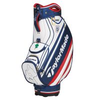 TaylorMade US Open Pebble Beach Staff/Tour Bag - 2019 White/Red/Blue