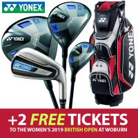 Yonex Ezone Elite Irons/Woods/Bag Package Set - Steel