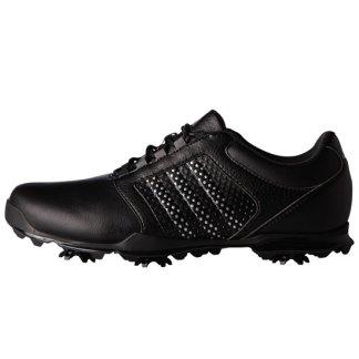 ADIDAS 2017 Womens Adipure Tour Golf Shoes - Core Black/Silver Metallic