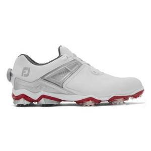 Mens Tour X Boa 2020 Golf Shoes - White/Grey