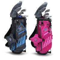 US Kids Golf 5 Club Stand Bag Junior Golf Set 48'' - Age 7