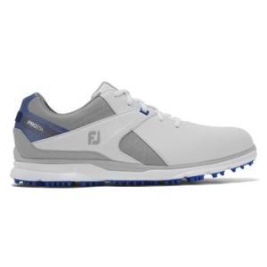 FootJoy Mens Pro SL 2020 Golf Shoe - White/Grey/Blue
