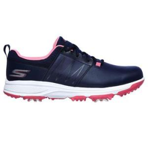 Skechers Girl's Finesse Golf Shoes - Navy/Pink