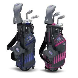 "US Kids 4 Club Stand Bag Golf Set: Age 6 (45"")"