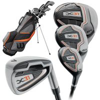 Wilson X-31 Men's Golf Package Set 2020 - Steel/Graphite