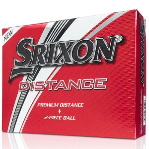 Srixon Distance (9) Golf Balls - Dozen - White