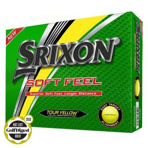 Srixon Soft Feel (11) Yellow Golf Balls - Doz