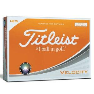 Titleist 2018 Velocity Orange Golf Balls - Doz