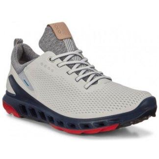 Ecco 2020 M Golf Biom Cool Pro Golf Shoes - White/Scarlet