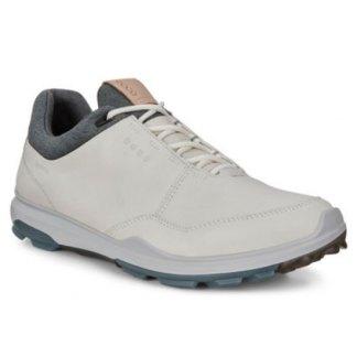 Ecco 2020 M Golf Biom Hybrid 3 Golf Shoes - White/Dynasty