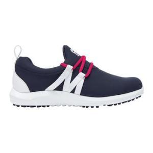 FootJoy Ladies FJ Leisure Slip On Golf Shoes - Navy/White