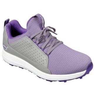 Skechers 2020 Ladies MAX - MOJO Golf shoes - Grey/Purple