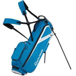 TaylorMade FlexTech Lite Golf Stand Bag - Driver Blue/Grey Cool