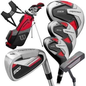 Wilson Pro Staff SGI Golf Package Set - Left Hand