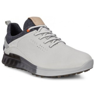 Ecco 2020 M Golf S-Three Dritton Golf Shoes - White