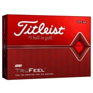 Titleist TruFeel Golf Balls - Red Dozen