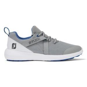FootJoy FJ Flex Ladies 2020 Golf Shoes - Grey/Blue