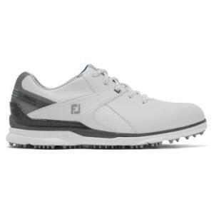 FootJoy Mens Pro SL Carbon 2021 Golf Shoe - White/Grey