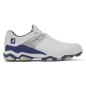 FootJoy Mens Tour X 2020 Golf Shoes - White/Navy