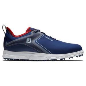 FootJoy Superlites XP 2021 Golf Shoes - Navy/White/Red