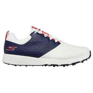 Skechers Elite 4 Golf Shoes - White/Navy/Red
