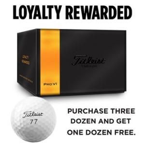 Titleist Pro V1 4 for 3 Golf Ball Offer
