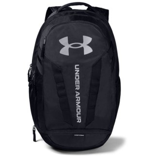 Under Armour Hustle 5.0 Backpack Black/Silver - OSFA