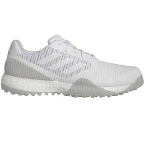 adidas Code Chaos Sport Golf Shoes - White/Grey/Green