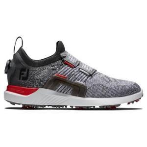 FootJoy Hyperflex BOA 2021 Golf Shoes - Grey/Red