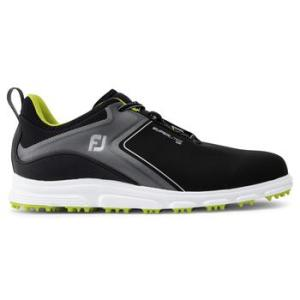 FootJoy Mens Superlites XP 2021 Golf Shoes - Black/Lime