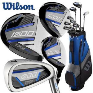 """Wilson 1200 TPX Golf Package Set - Longer +1"""""""