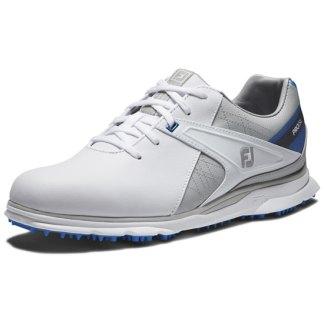 Footjoy 2021 Pro Sl Golf Shoes Mens - White/Grey/Blue