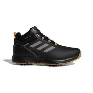 adidas S2G Mid Cut Golf Boots - Black/Grey