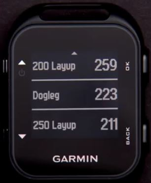 garmin approach g10 layup dogleg distances