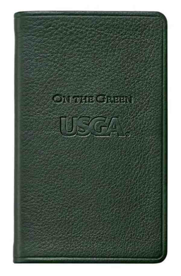 USGA On the Green Score Keeping Book