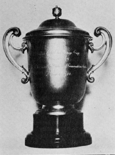 A photograph of the Duchess of Connaught Cup, kindly supplied by Margaret McLaren