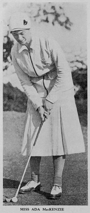 Photograph from Canadian Golfer, kindly supplied by Margaret McLaren