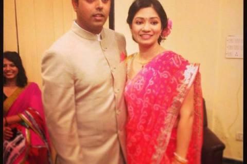 Anirban Lahiri and Ipsa Jamval