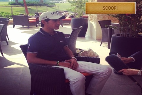 Golf in Abu Dhabi: Matteo Manassero talks about the courses