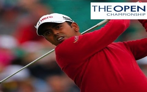 Anirban_Lahiri at The Open in Hoylake