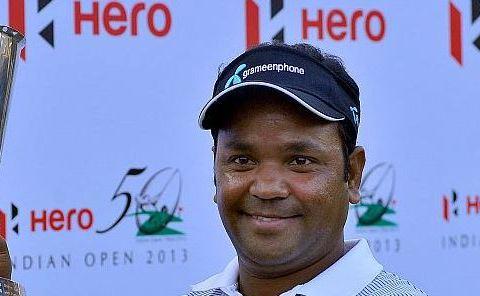 Siddikur Rahman at the Indian Open