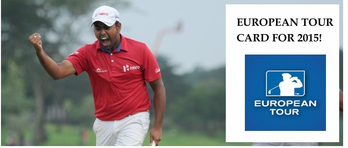 Anirban Lahiri finishes T16 in the Qualifying School Final Stage to earn a card for the European Tour