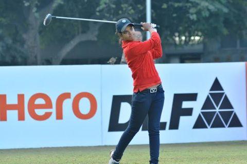 Vani Kapoor won the first leg of the Hero Women's Pro Golf Tour