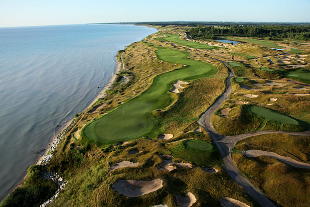 The spectacularly beautiful Whistling Straits is set to test golfers this week in the 97th PGA Championship